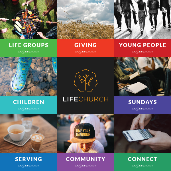 Life Church Warrington design by FroggaByte